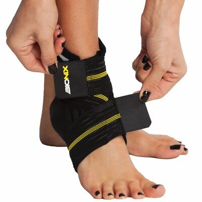 Ankle Support Brace Wrap Compression Strap Neoprene Foot Injury Elastic Football
