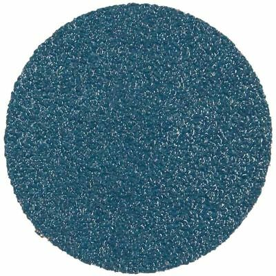 New Abracs Quick Lock Sanding Discs 50mm 75mm Grit 40 60 80 120 Blue Zirconium