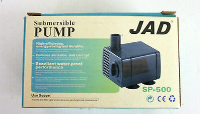 Sumbmersible Water Pump ideal for indoor water features / fish tanks