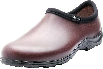 Sloggers 5301BN11 Men's Rain and Garden Shoes, Size 11, Brown