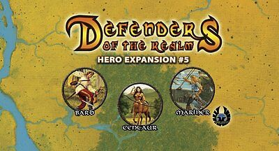 Defenders of the Realm: Hero Expansion #5 (unpainted)