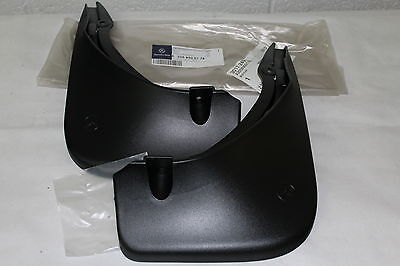 Genuine Mercedes-Benz W205 C-Class Saloon/Estate Rear Mud Flaps A2058900178 NEW