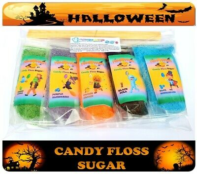 CANDY FLOSS SUGAR. Buy 4 bags get 3 bags free 22 BEST FLAVOURS &12 REAL COLOURS