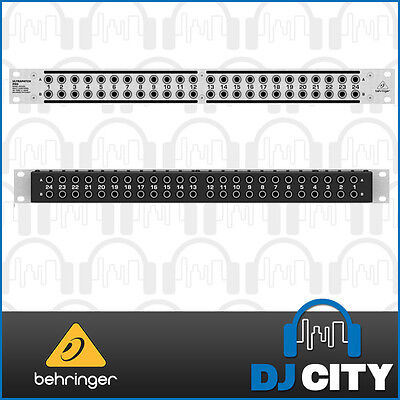 Behringer Ultrapatch PX3000 3-Mode Balanced Patchbay