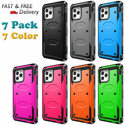 For Apple iPhone 5 5S Protective Hybrid Shockproof Rugged Rubber Hard Cover Case