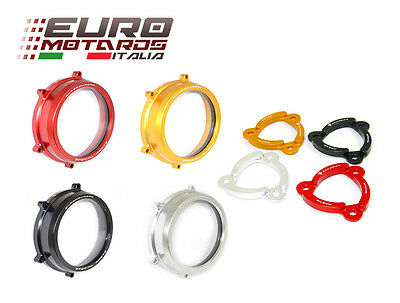 Ducati 1199 Panigale Ducabike Italy Clear Clutch Cover + Spring Retainer