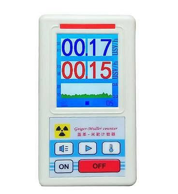 """2.8"""" TFT LCD Nuclear Radiation Detector Geiger counter marble detector tester"""