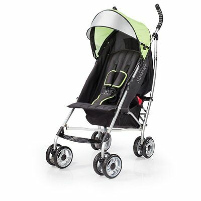 Summer Infant 3D Lite Stroller, Black/Lime Stylish and Durable New