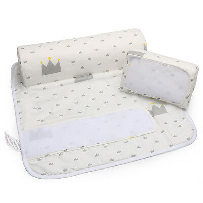 Hot New Baby Infant Newborn Sleep positioner Anti Roll Pillow With Sheet Cover