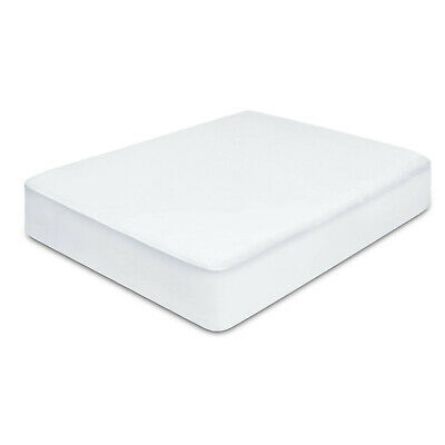 Giselle Bedding Fully Fitted Waterproof Mattress Protector Terry Cotton Queen