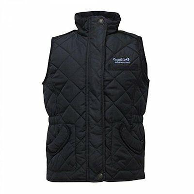Regatta Kids Girls Gee Gee Bodywarmer Gilet NAVY