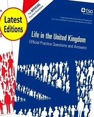 2017 Life in the United Kingdom UK Handbook 3rd Edition Citizenship Test Book