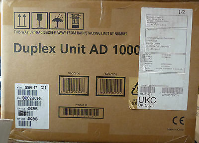 Ricoh Duplex Unit AD 1000 G893-17 - Sealed New but Open Box