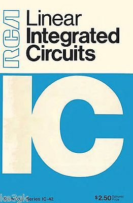 RCA LINEAR INTEGRATED Circuits Application Notes - $8 99