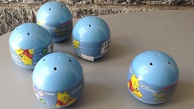 5X Gacha  TOMY Capsules Winnie The Pooh Mini Mug Collection #Sealed