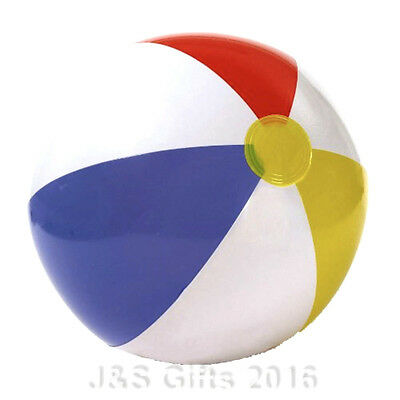 """Inflatable Blow up Panel Beach Ball 16"""" 41cm Swimming Party Fun Garden Holiday"""