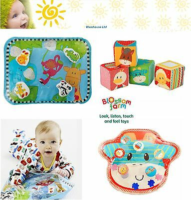 Early Learning Centre Jungle, Farm Play Mat, Pat Mat Water Filled Soft Baby Mat