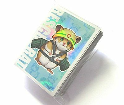 NEW YuGiOh Limited Official Promo Card Sleeve Rescue Rat 50pcs JAPAN FREE SHIP