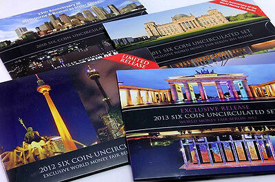 AUSTRALIA 2x EMPTY UNCIRCULATED SET OUTER CARD SLEEVES 1986-2016 REPLACE & RENEW