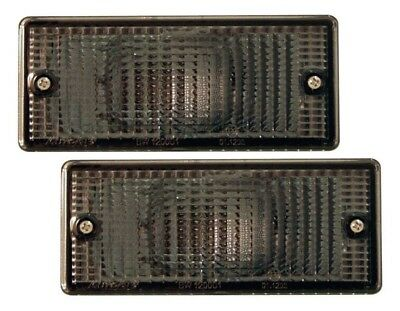 Bmw E30 M3 3 Series Front Indicator Lenses - Smoked
