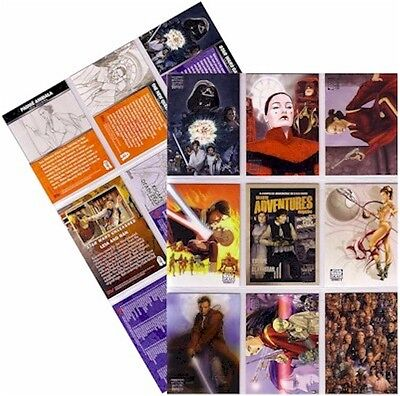 Star Wars Galaxy Series 5 (Five) - 120 Card Basic/Base Set