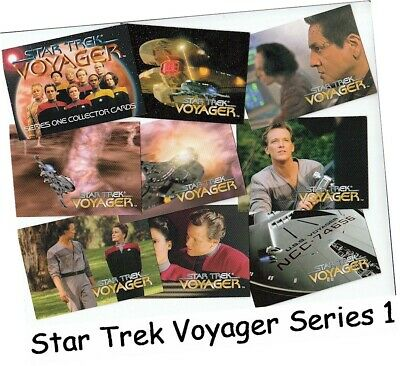 Star Trek Voyager Series 1 - 98 Card Basic/Base Set