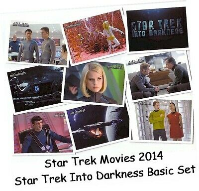 2014 Movies Star Trek Into Darkness - 110 Card Basic/Base Set