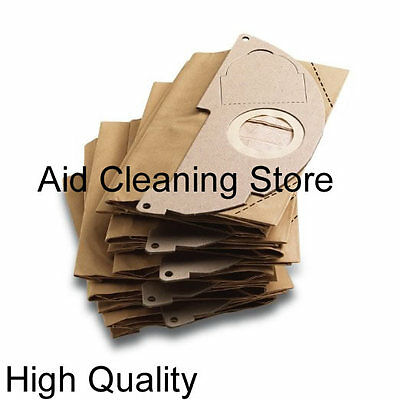 5 x Karcher Vacuum Cleaner Dust Bag Paper A2024PT A2054 A2064 PT WD2.200