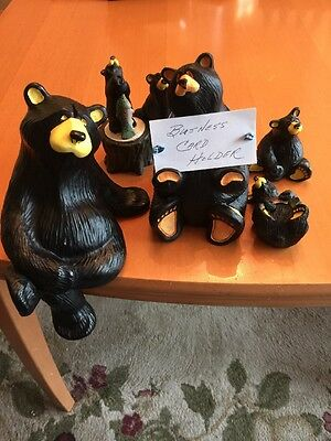 Bearfoots Bears Lot Of 5 By Jeff Fleming 4 And 1 By Kritter Hollows