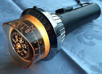 Bussola Hand Bearing Compass  Made In  Japan YCM Barca Rara