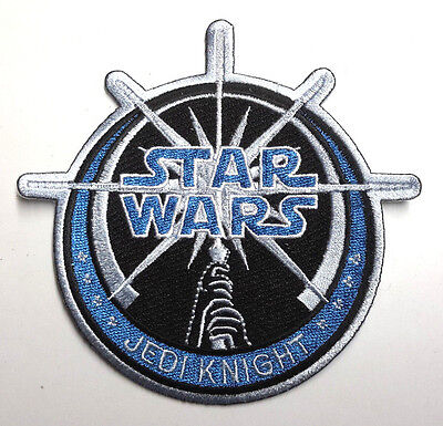 "Star Wars Jedi Knight Large 4""  Embroidered Patch-FREE S&H (SWPA-FC-01)"