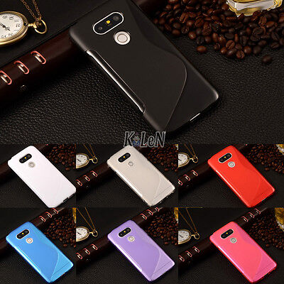 S-Line Soft Gel TPU Silicone Case Skin Cover For LG G5 H850 H830/G5 SE H840 H845