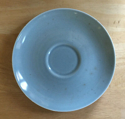 Russel Wright Iroquois Casual China Saucer Ice Blue Vintage Mid Century