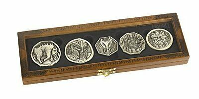 Dwarven Treasure Coin Set Officially Authorized By Warner Brother New Gift