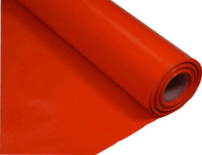 Gas Radon BBA Polythene Membrane Red 300mu / 1200 gauge | 4m x 25m | 100 m2