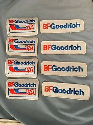 NEW LOT OF 8 Vintage B.F. Goodrich Embroidered Tires Badge Uniform Patch