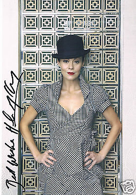 Helen McCrory Film and TV Actress Harry potter Hand Signed Photograph 12 x 9