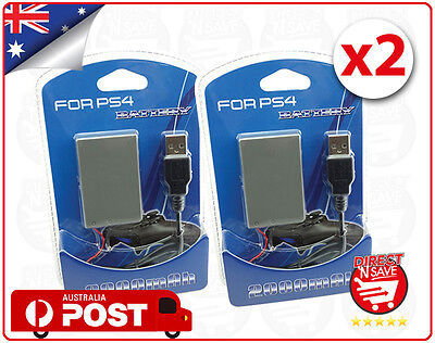 PS4 Battery For Sony Playstation 4 Controller 2000mAh Rechargeable Liion x 2 TWO