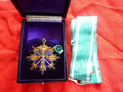 WW2 Japan Japanese Order of 3th class Golden Kite silver navy army