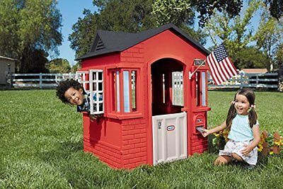 Kids Garden Playhouse Little Tikes Childrens Cape Cottage Play Area