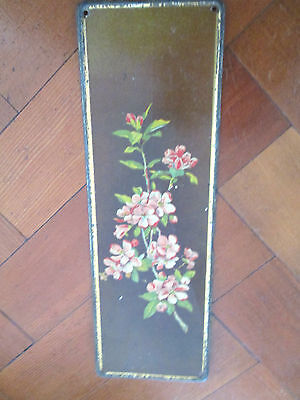 Vintage Door Plate With Floral Design