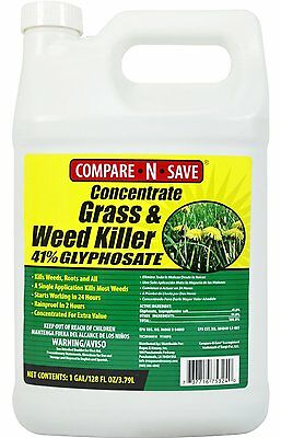 75Compare-N-Save Concentrate Grass and Weed Killer, 41-Percent (Size: 1-Gallon)