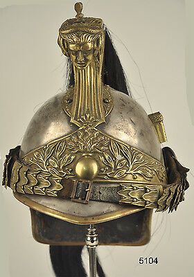5104 - Casque D'officiers De Dragons Mle 1874