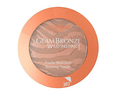 Loreal Glam Bronze Wild Instinct Press Powder No 302 Walk On The Wild New Sealed