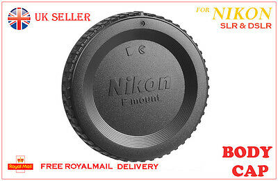 Brand New Nikon BF-1B Body cap cover for all nikon SLR DSLR D Series Cameras, UK