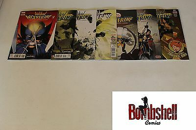 All New Wolverine 1 2 3 4 5 6 7 Complete Comic Lot Run Set 1st Print Collection