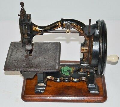 c1870 JOSEPH HARRIS 'The Challenge' Sewing Machine // Working!!  [PL2146]