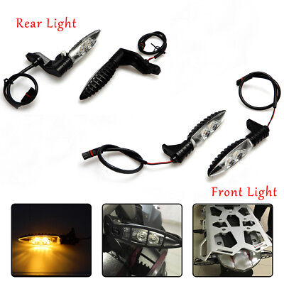 Front and Rear Turn Indicator Signal Light LED For BMW R1200 GS/R/S 09-14 RNINET