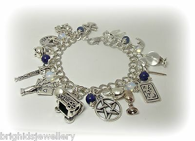 The Psychic - Psychic Awareness Bracelet Pagan Jewellery - Made to Order