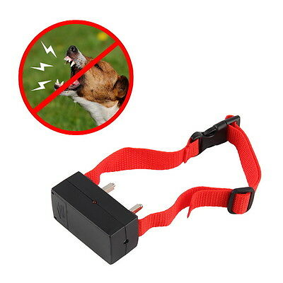 Anti Bark No Barking Tone Shock Control Training Collar for Small Medium Dog USA